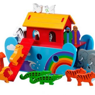 Wooden and Cardboard Toys