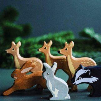 Individual Wooden Figures