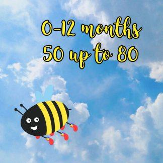 0-12 months 50-80
