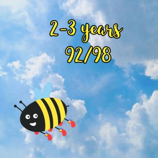 2-3 years 92/98