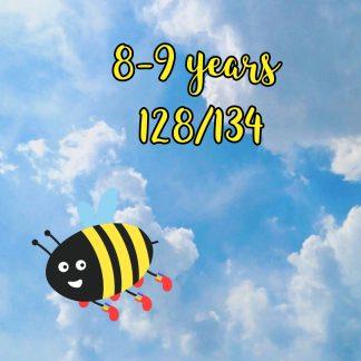 8-9 years 128/134