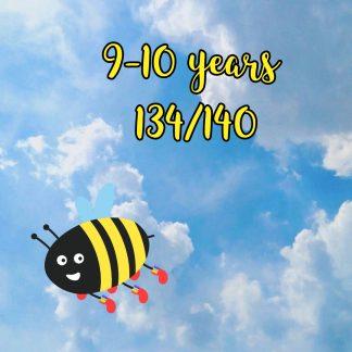 9-10 years 134/140